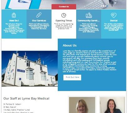 NHS – Lyme Bay Medical & Dental [Website]