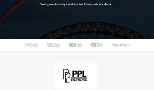 PPL Ltd – International Publishing [Website]